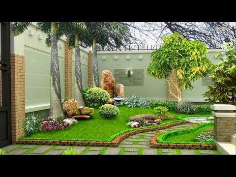 Landscape Design Ideas Garden Design For Small Gardens Youtube - Design-gardens-ideas