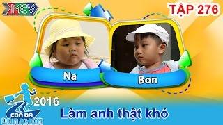 hanh trinh lam anh that kho cua cap doi sieu de thuong  con da lon khon  tap 276  12112016