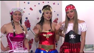 Confeccion de Disfraces para Halloween - Hogar Tv  por Juan Gonzalo Angel