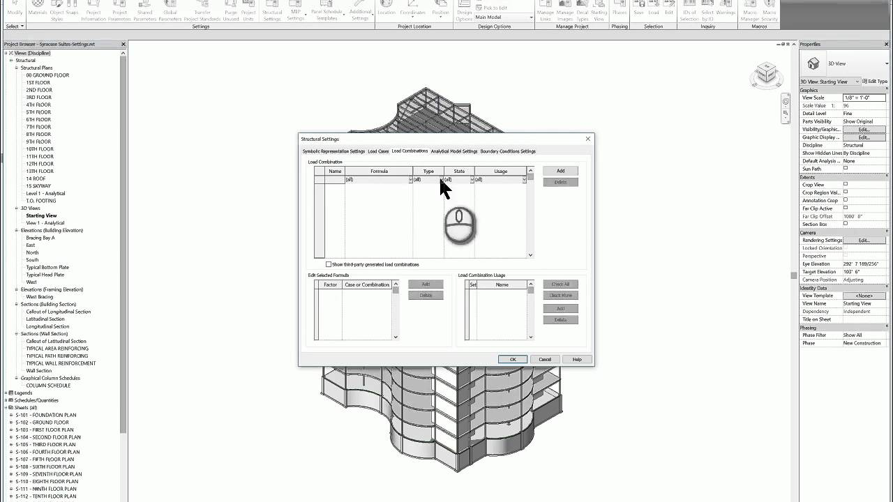 Tutorial Tuesday| Revit Structure Loads & Load Combinations