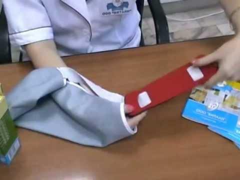 Как сшить повязку для сломанной руки своими руками