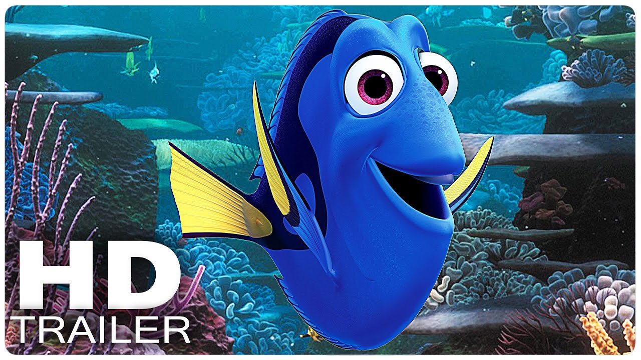 finding dory trailer official disney 2016