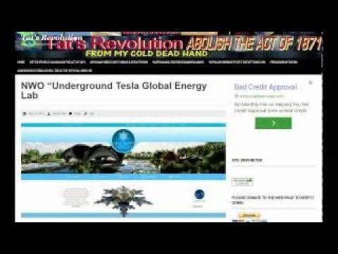 NWO Underground Tesla Global Energy Lab