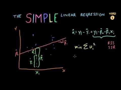 "Econometrics // Lecture 2: ""Simple Linear Regression"" (SLR)"