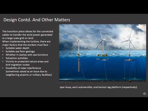 Offshore Wind turbines Project