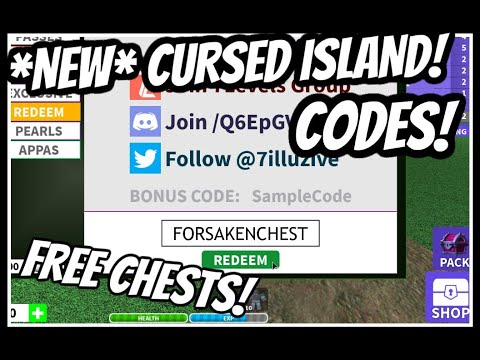 Pearls Code Roblox Cursed New Cursed Island Codes Roblox Youtube