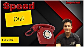 Speed dial full detail // how to use speed dial // #tggyan