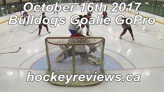 October 26th 2017 Bulldogs Hockey Goalie GoPro