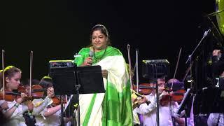 Ilaiyaraja Live In Concert, Toronto 2018 - Ninnukori Varanam By K. S. Chithra [4K]