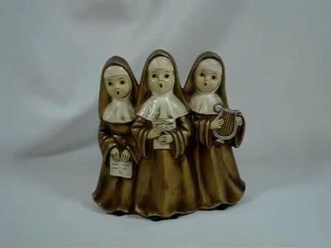 Singing Nuns Figurine