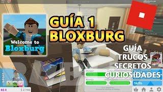 Bloxburg guia tutorial 1, como ganhar um monte de dinheiro e construir uma casa rápida-Roblox inglês