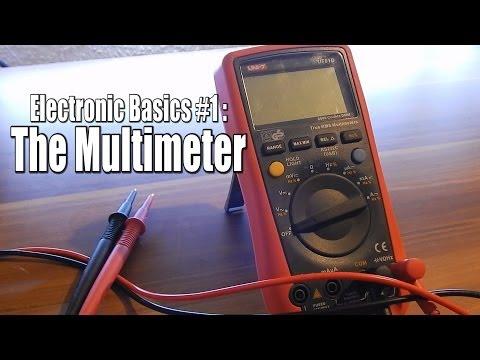 Electronic Basics #1: The Multimeter