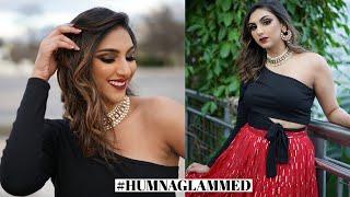 Bronze Urban Desi Makeup on Dhara Patel