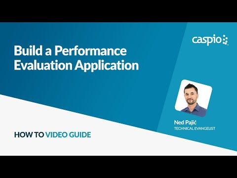 Build a Performance Evaluation Application