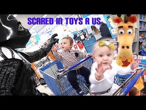 Toys R Us Is SCARY To A 1 Year Old