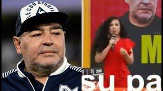 Janet Barboza asegura que Maradona es Brasileño xD