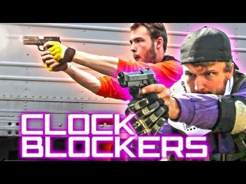 CLOCK BLOCKERS - A Mind Bending Gunfight