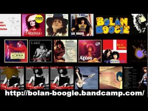 Bolan Boogie Digital T.Rex Albums