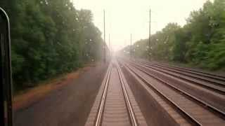 New Jersey Transit New Brunswick to Princeton Junction Rear View Ride MUST SEE!!!!