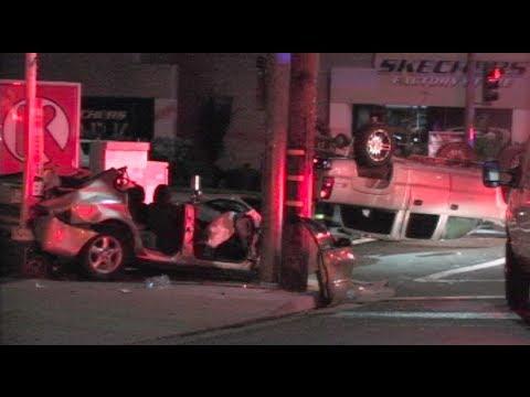 Breaking News: Fatal Car Crash - Car Vs  Pickup Truck Collision In Modesto,  California