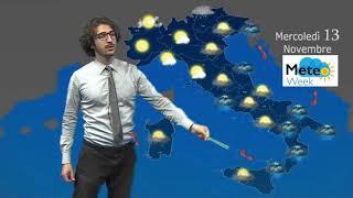 Previsioni Meteo domani mercoledì 13 novembre