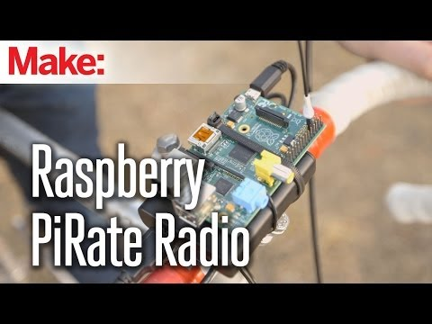 Start a Pirate Radio Station with a Raspberry Pi and a Single Wire