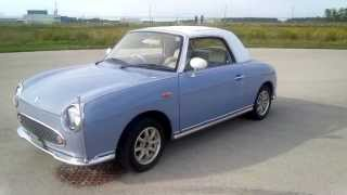 1991 Nissan Figaro walkaround tour low mileage show car