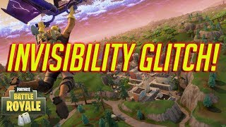 How to Be INVISIBLE In Fortnite Battle Royale GLITCH! Insane Invisibility Glitch!