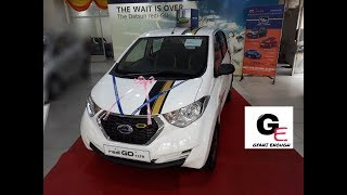 datsun redi go 1.0 gold edition actual showroom look with interiors/exteriors!!!!