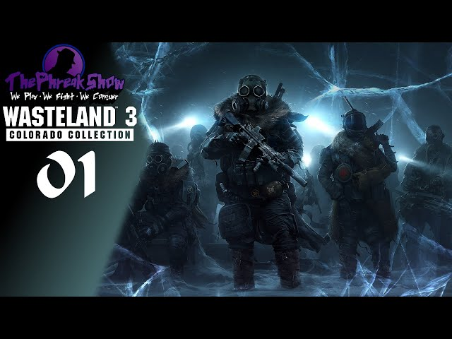 Let's Play Wasteland 3: Colorado Collection - Part 1 - A Pen Knife!