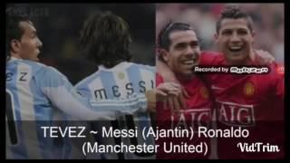 Hem Ronaldo hemde Messi ile aynı takımda oynamış en şanslı futbolcular