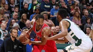 Bulls 37-7 4th Quarter Run Completes Comeback vs. Bucks