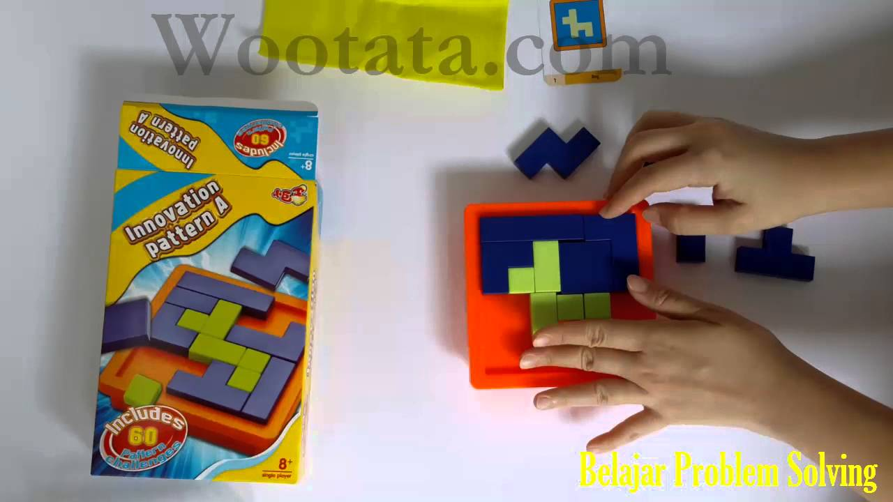 Mainan Edukasi Anak Sd Innovation Pattern A Youtube
