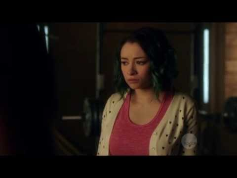 Jodelle Ferland and Roger Cross  Dark Matter  S01E09 HD