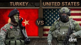 Turkey vs United States - Army/Military Power Comparison 2018