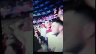 Liverpool Fans Loving Dua Lipa -