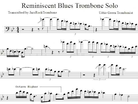 Reminiscent Blues - Urbie Green | Shazam