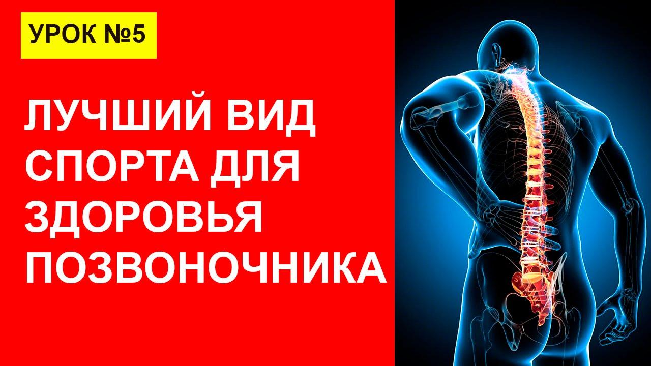 Урок 5. Болит спина? Лучший вид спорта для здоровья позвоночника - плавание!