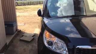 トヨタ ラッシュ オートリtpラクタブルミラー動作テスト