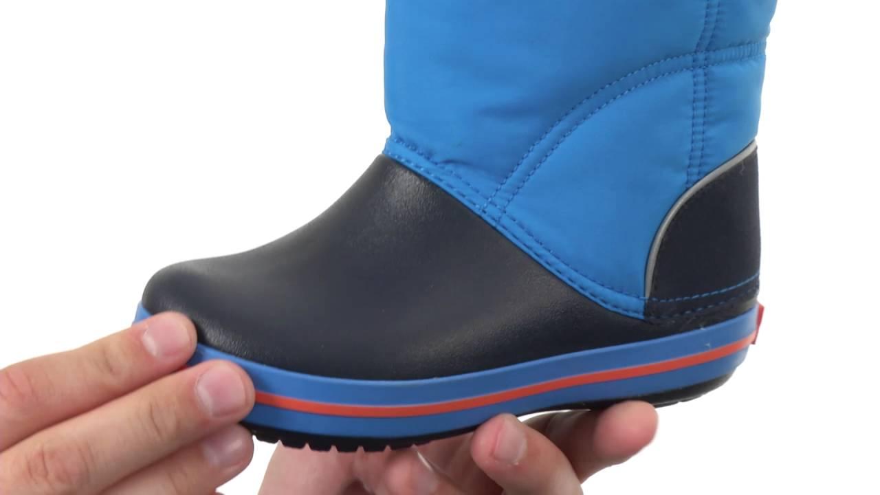 Crocs Kids Crocband Lodge Point Boot