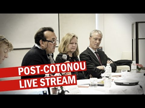 Stand up for a better future for all - Live streaming of the post-Cotonou event