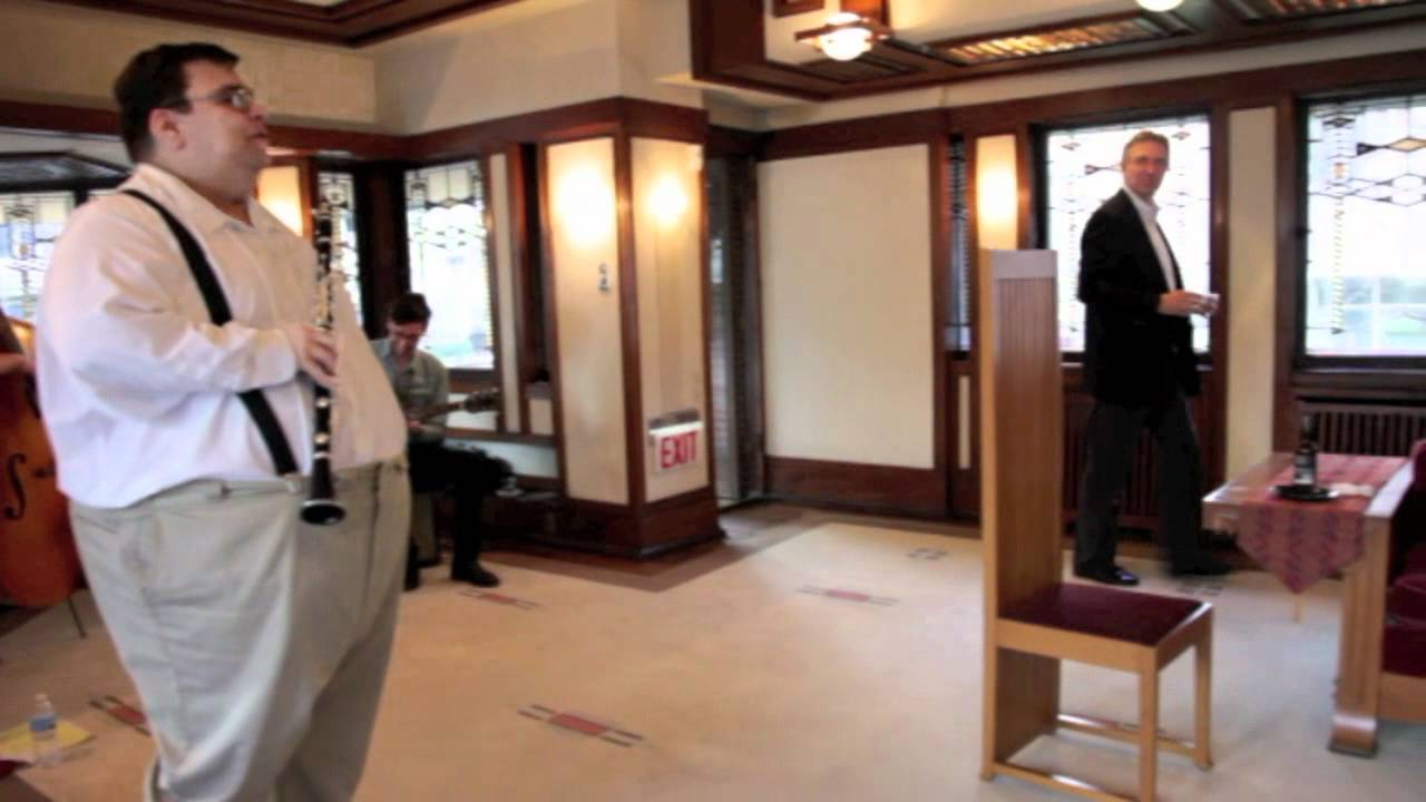 April After Hours At Frank Lloyd Wrightu0027s Robie House.mov   YouTube