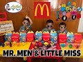 Mr. Men and Little Miss McDonald's Happy Meal