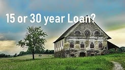Is a 15-Year Loan Really Better than a 30-Year Loan?