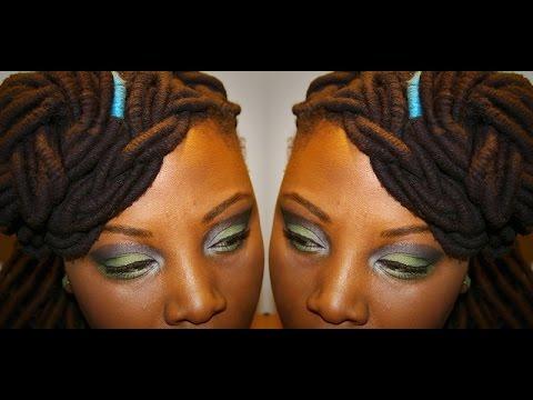beginner makeup tutorial for black women  fall look