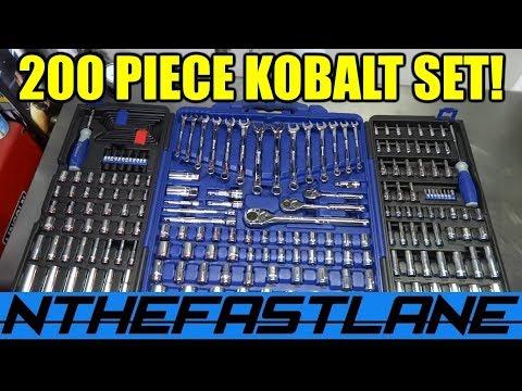 200 Piece Kobalt Tool Set Review