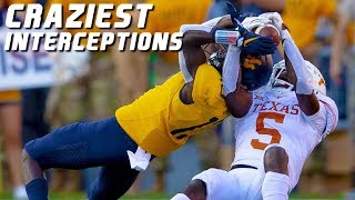 College Football Craziest Interceptions 2019-20 ᴴᴰ