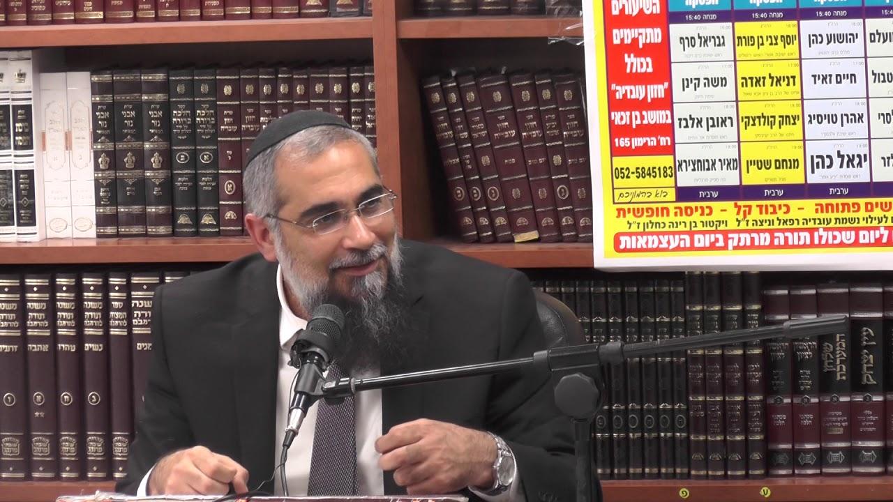 הרב גבריאל סרף :  שביעי של פסח -  עם ישראל נגאלין בדין .