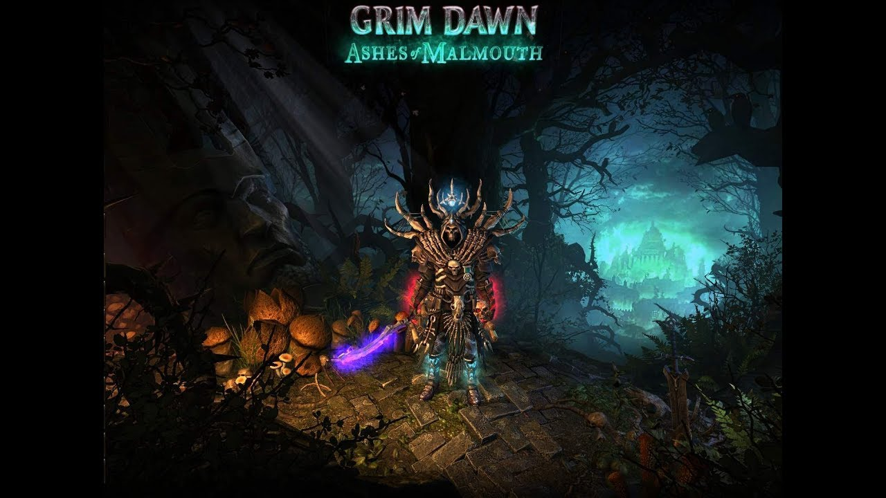 Grim Dawn - Drain Essence/Hungering void Spellbinder build  Hungering void  is hunger!