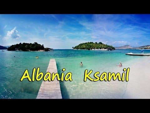 Albania - Ksamil  Bora- Bora na Albańskiej Rivierze Shqipëria (HD)